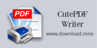 cutePDF Writer Picture