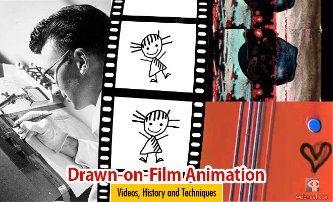 drawn on film animation, types of animation