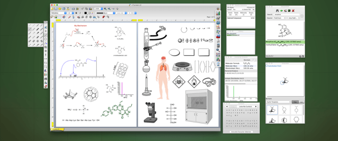 ChemDoodle Chemical Drawing Software -Diagram