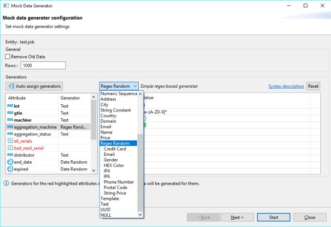 mock-test of DBeaver Database Tool