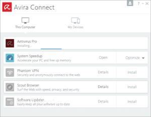 Avira Connect