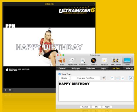 UltraMixer Dj Software With Text Message