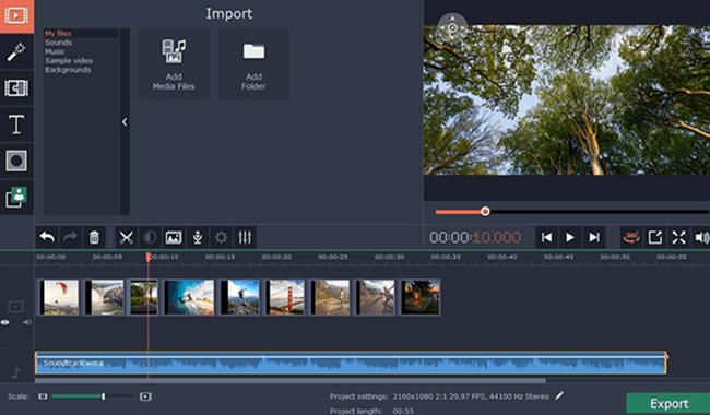 Movavi 360 Video Editor Software