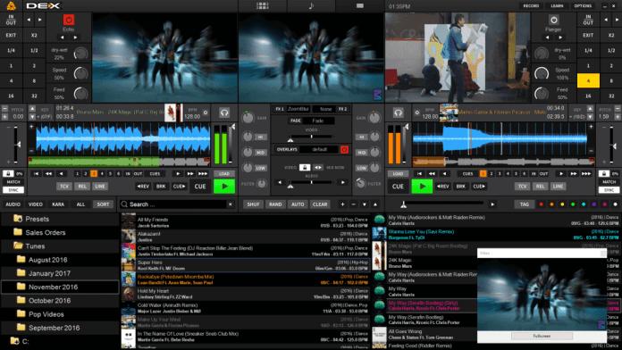 PCDJ Dex Video Mixing Software