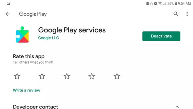 Google Play Service Install App