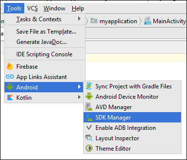 android_configure_sdk_tool for Android SDK Manger