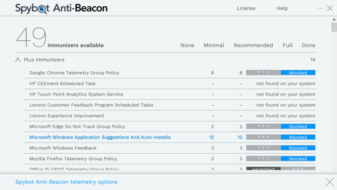 AntiBeacon Customize