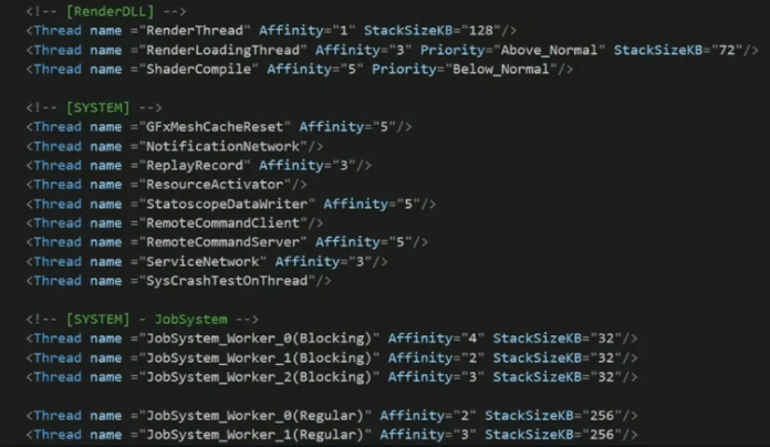 data driven in Game Engine