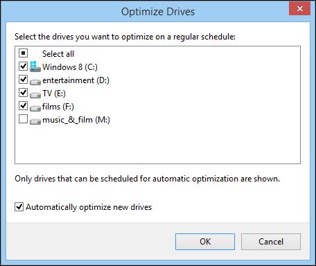 optimize drives