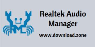 Realtek audio manager software