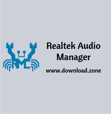 Realtek audio manager software
