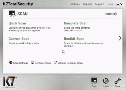 Scan Mode