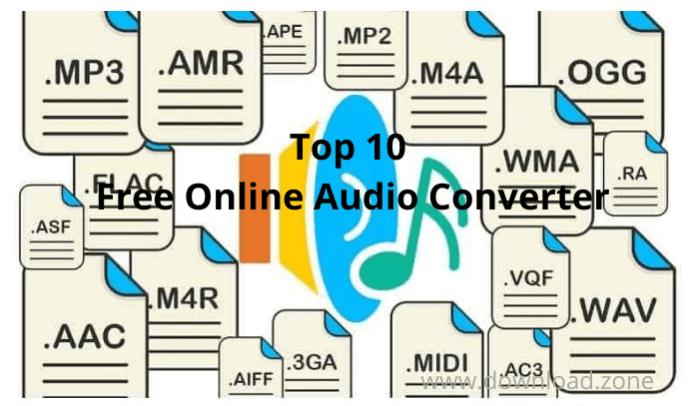 Top 10 Free Online Audio Converter