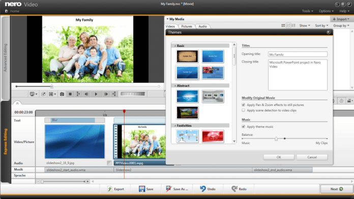 Nero Video Software