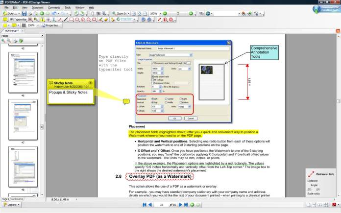 Comprehensive Annotation and Markup Tools