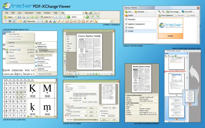PDF Files Features Comparison