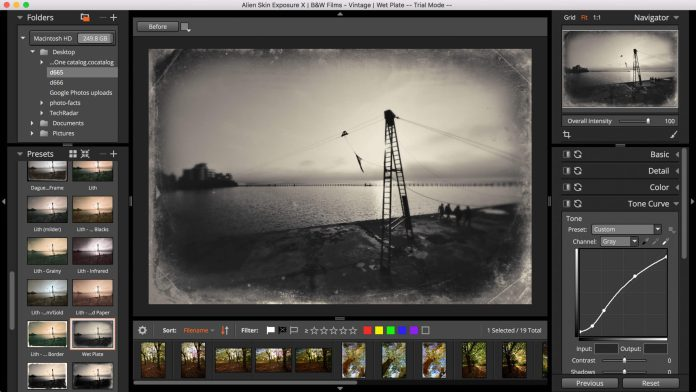 Photo Effects of RAW Photo Editor