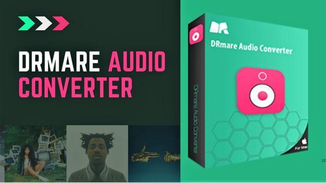 DRmare audio converter software