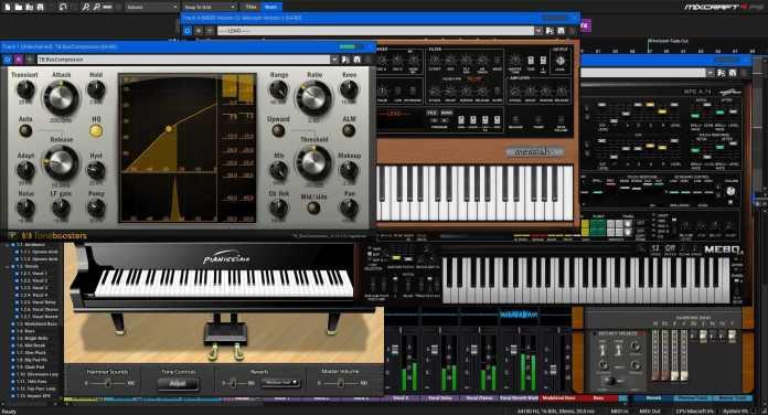 Instruments Effects-recording-studio