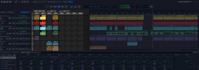 Live-performance-of-mixcraft-pro-studio