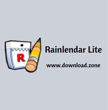Rainlendar Lite Software Free Download