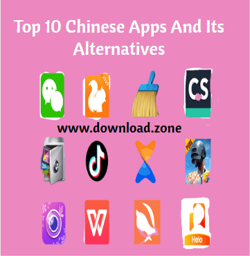 Top 10 Chinese Apps And Its Alternatives