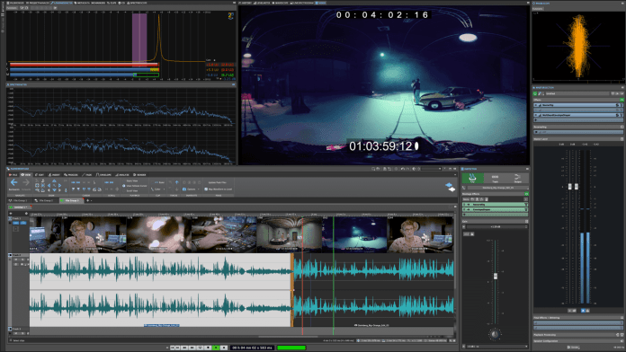 Video playback support in WaveLab Pro 10 Audio Editor