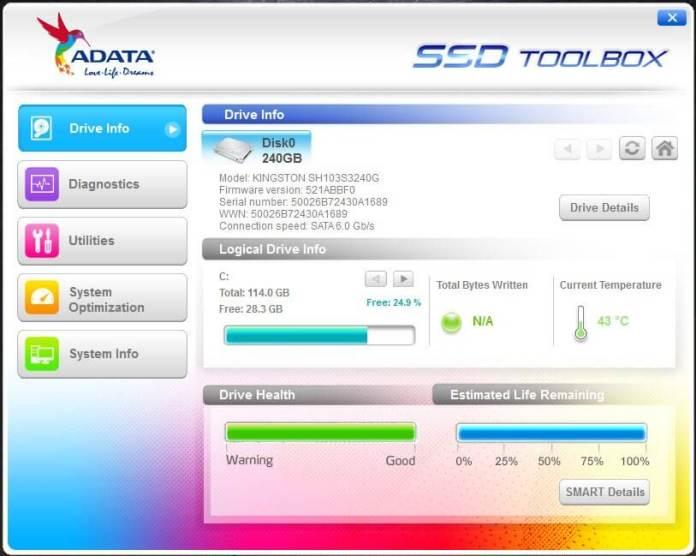 adata-ssd-toolbox-driver-information