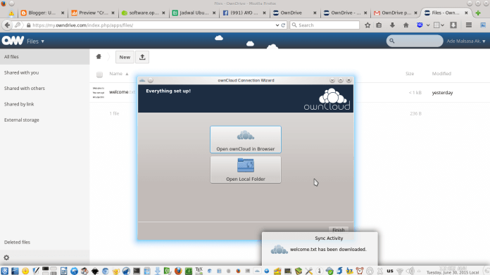 owncloud To Access Files