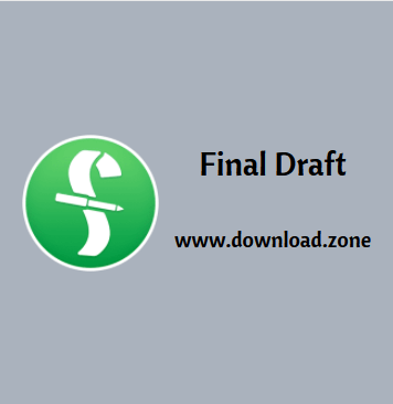 Final Draft Software For PC