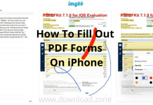 How To Fill Out PDF Forms On iPhone