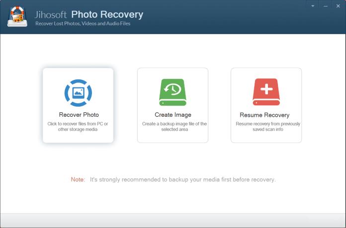 Jihosoft Photo Recovery To Recover Photo