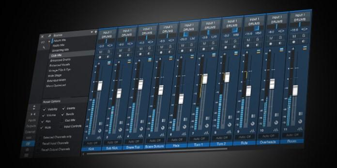 Mixer Scene For Best Music Maker Software