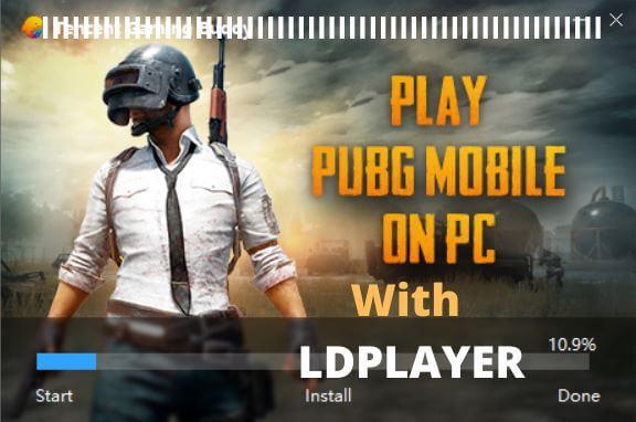 PUBGM On Pc With LDPlayer Emulator