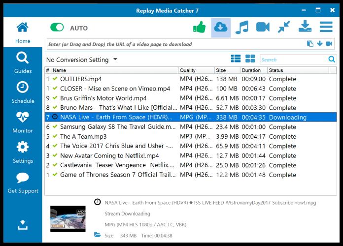Replay Media Catcher Online Video Downloader
