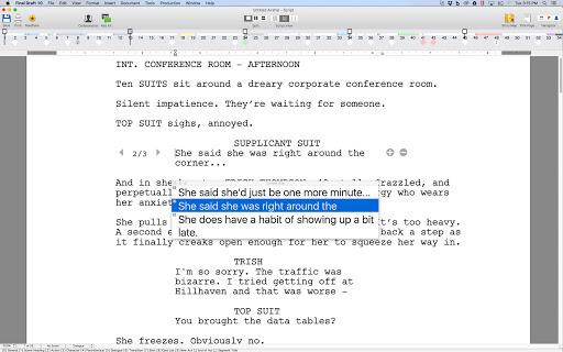 Word Processor Software