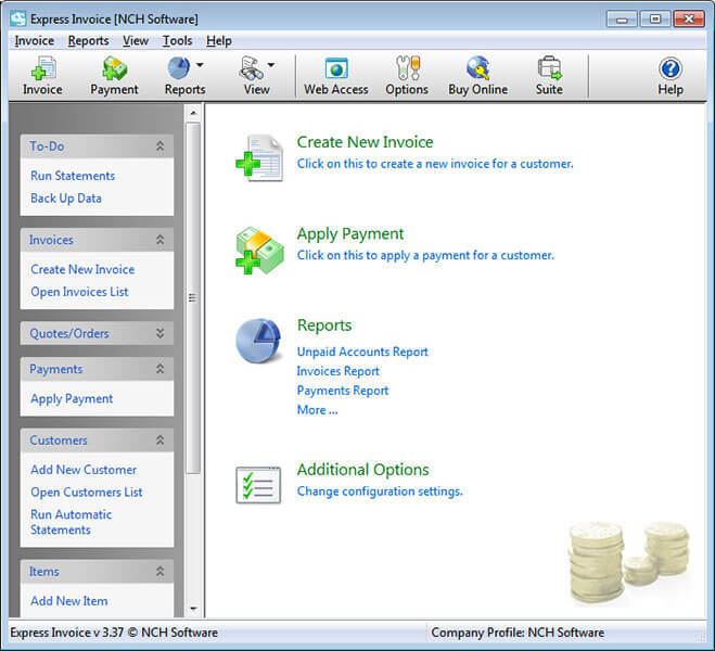 express-invoice-software