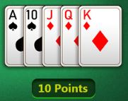 rummy points