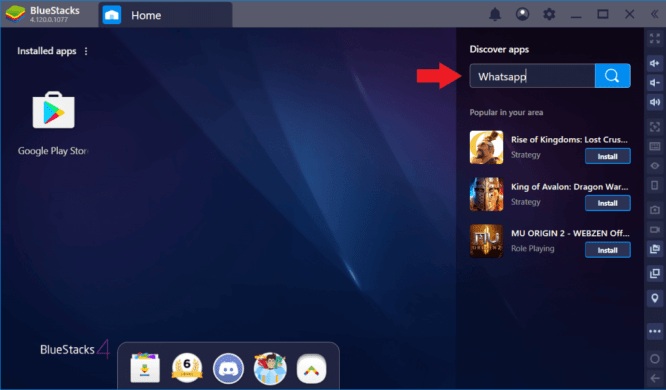 Find Apps on PC