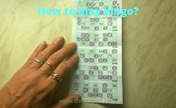 How to play bingo_