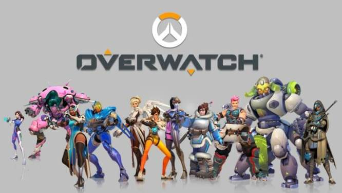 Overwatch All Characters