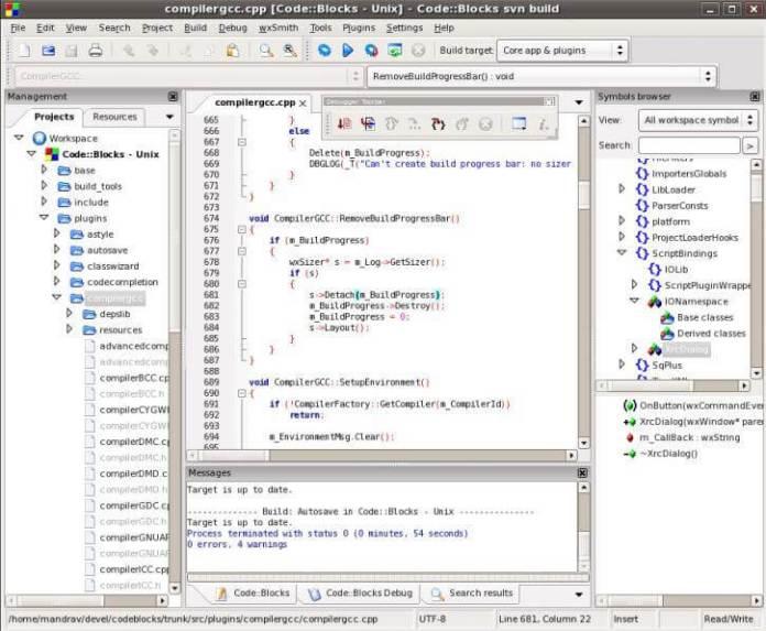 C++ Compiler code blocks