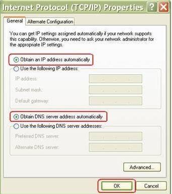 internet protocol properties
