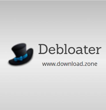 debloater remove bloatware from windows 10