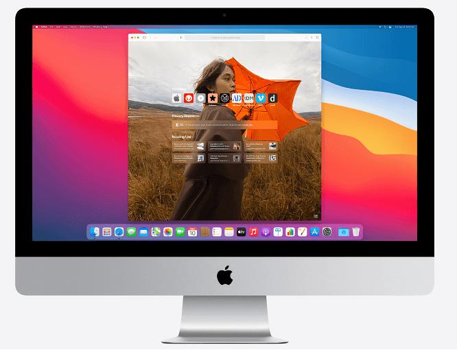 safari feature of macOS Big Sur