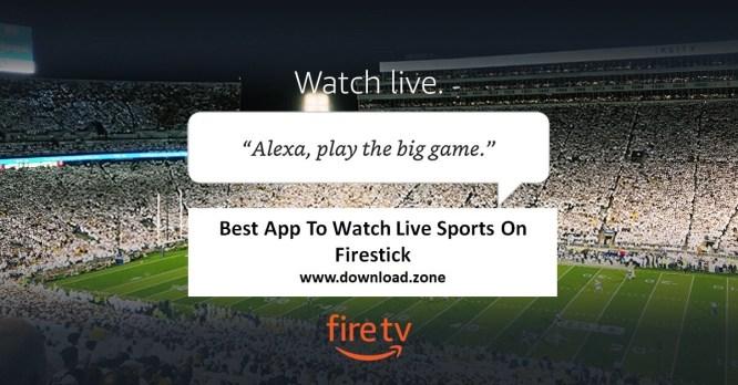 Watch Live Sports On Firetv