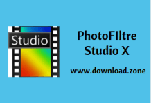 PhotoFiltre Studio Software For PC