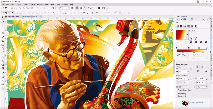 Download CorelDRAW Graphics Suite 2017 Portable 19.0