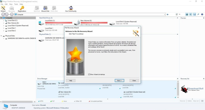Download Magic Partition Recovery 2.6 Portable Free