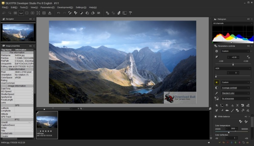 Portable SILKYPIX Developer Studio Pro 8.0 Overview